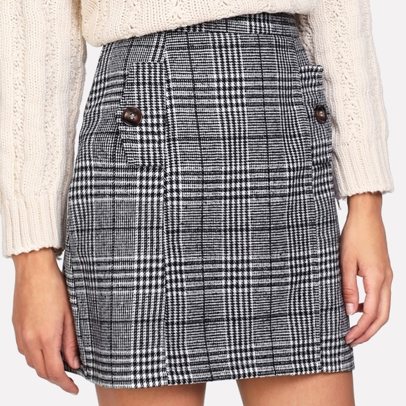 Dresses & Skirts - Wales Check Skirt